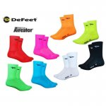 "DeFeet Aireator 5"" Double-Cuff Socke mit D-Logo"