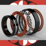 Enduro Bearings 6802 LLU ABEC 3 MAX Black Oxide Lager,...