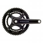 Praxis Works Kurbelgarnitur Zayante Carbon M30 DM Road 2x 170mm 39/53