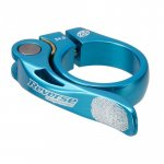 REVERSE Sattelklemme Long Life 34,9mm light-blau