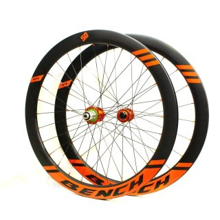 Bench Wheels Laufrad Set FCCD25 50mmTubelessReady Full Carbon Clincher Disc