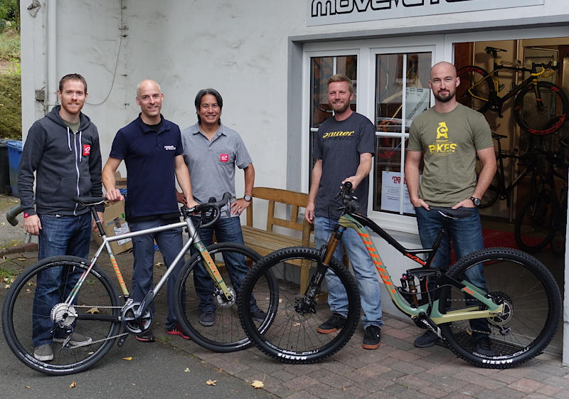 Niner Bikes Chris Sugai bei Move-Cycles